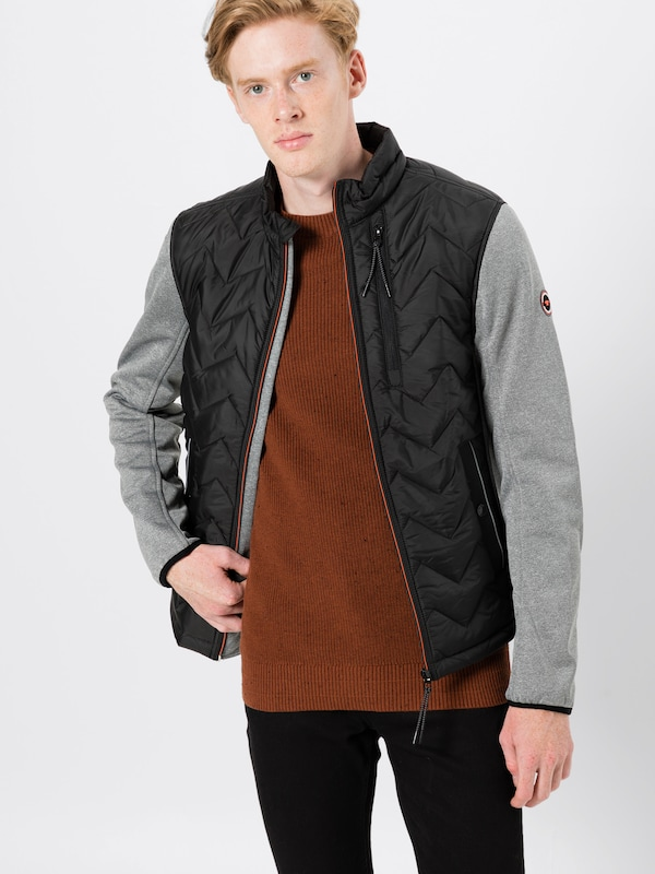 Jacket' Tom Mi saison En GrisNoir 'hybrid Tailor Veste lF3JcT1K
