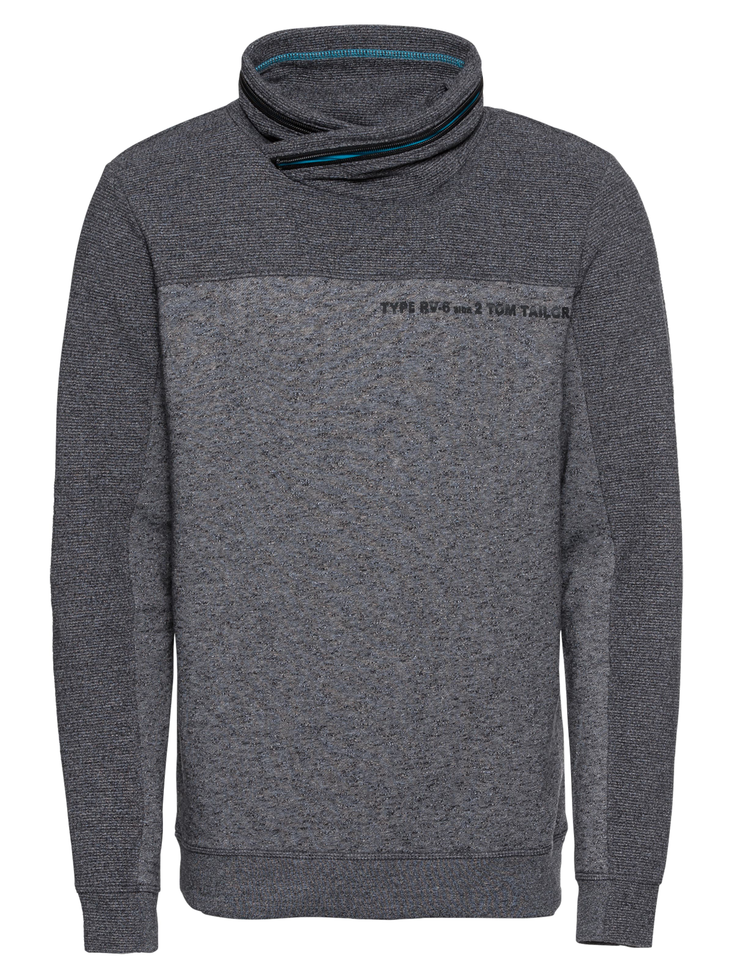 Gris shirt Tom Foncé Sweat En Tailor AIqxqU0B