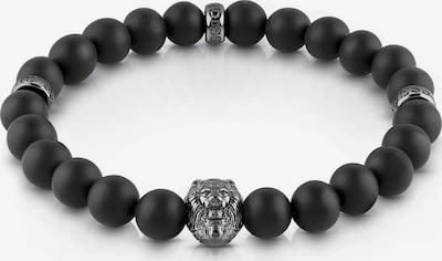 GUESS Armband 'Black Beads' in schwarz, Produktansicht