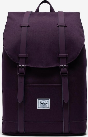 Herschel Laptoprucksack »Retreat, Blackberry Wine« in dunkellila, Produktansicht