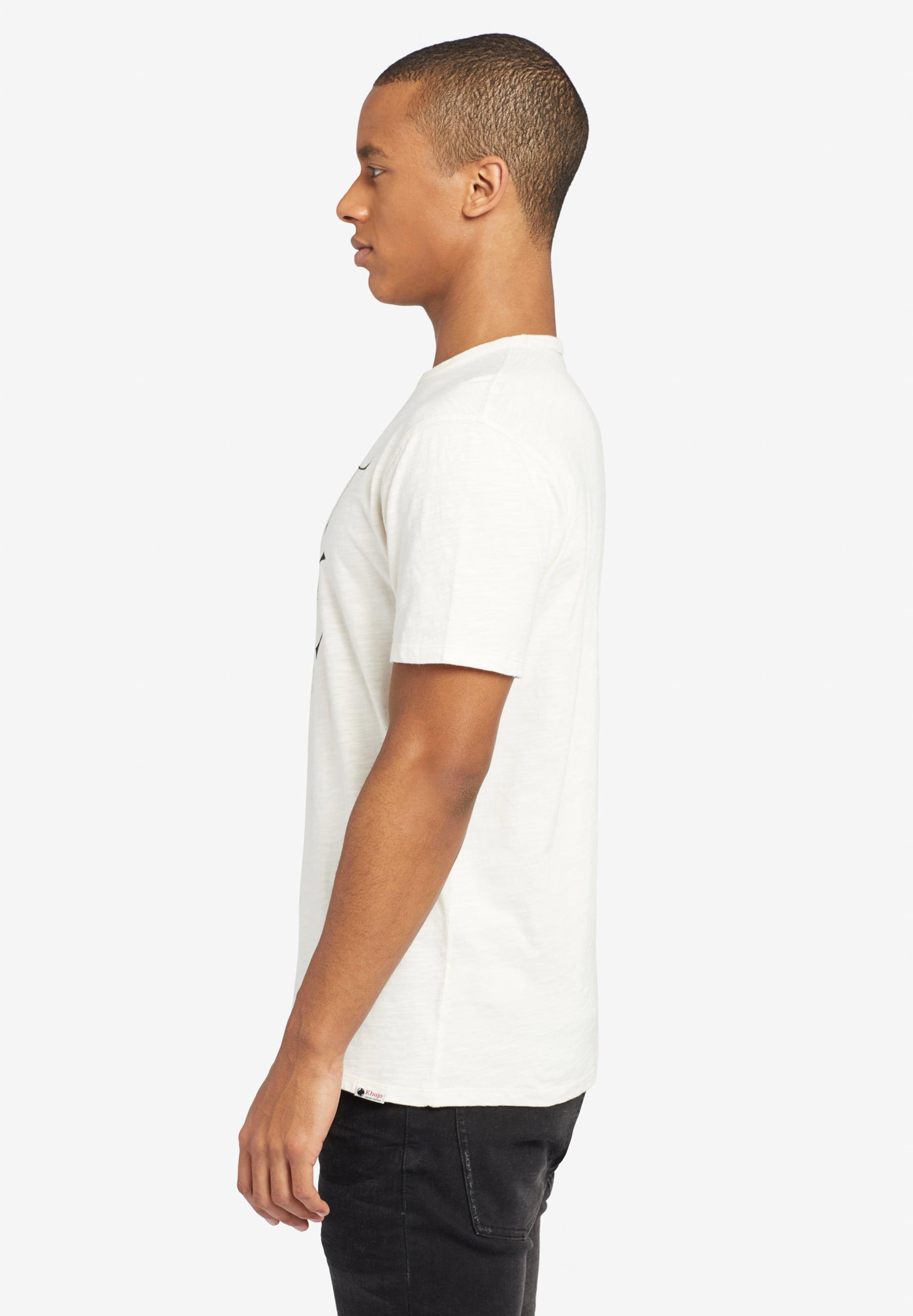 'finn T En Khujo Anchor' shirt NoirBlanc A35jL4R