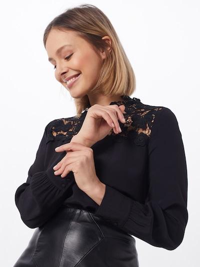 SET Blusenshirt in schwarz, Modelansicht