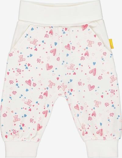 STEIFF Hose in braun / pink / rosa / weiß, Produktansicht
