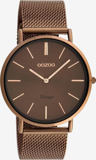 OOZOO Uhr 'C20004' in braun / bronze, Produktansicht