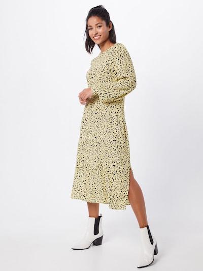 modström Kleid 'Berta' in gelb, Modelansicht