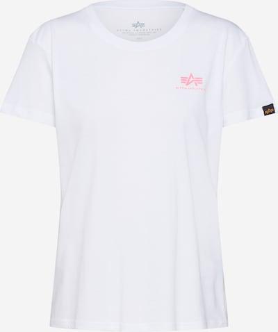 ALPHA INDUSTRIES Koszulka w kolorze neonowy róż / białym, Podgląd produktu