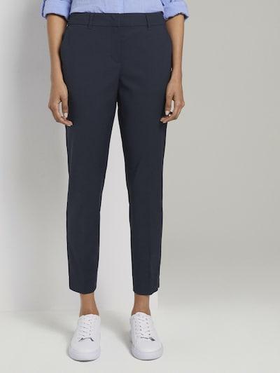MINE TO FIVE Pantalon chino en bleu, Vue avec modèle