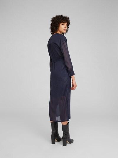 EDITED Kleita 'Georgette' pieejami zils / tumši zils: Aizmugures skats