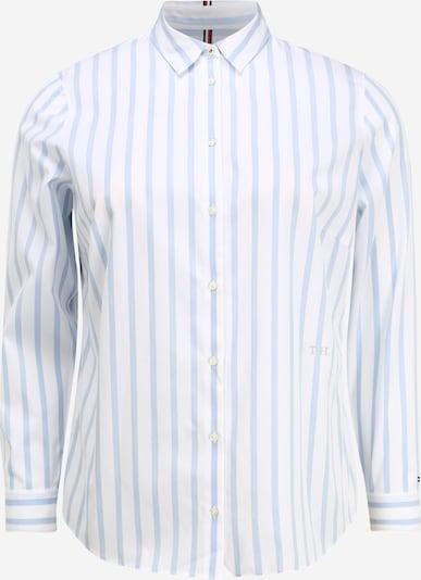 Tommy Hilfiger Curve Hemd in hellblau, Produktansicht