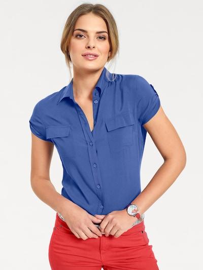 B.C. Best Connections by heine Bluse in royalblau, Modelansicht