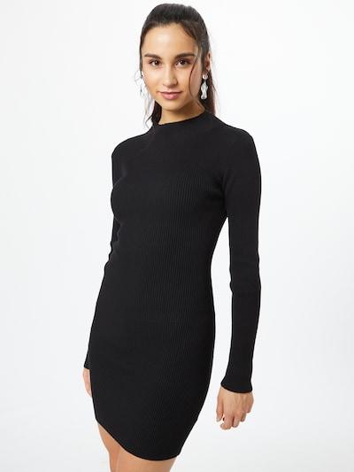 Missguided Vestido en negro, Vista del modelo