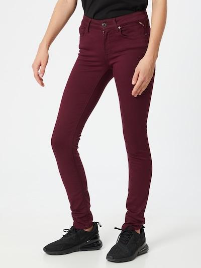 REPLAY Jeans 'New Luz' in merlot, Modelansicht