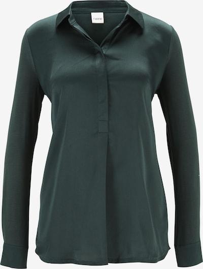 heine Bluse in dunkelgrün, Produktansicht