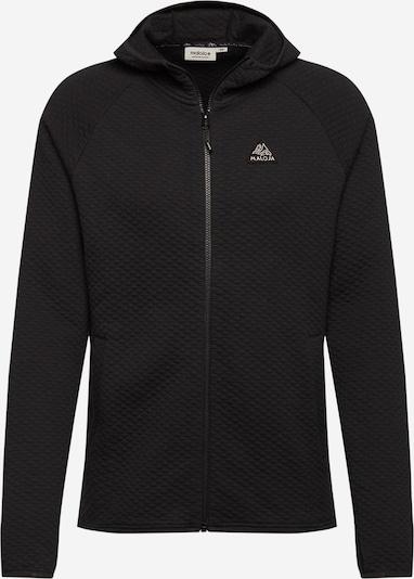 Maloja Sportjacke 'Orbe' in schwarz / weiß, Produktansicht