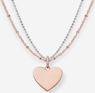 Thomas Sabo Necklace 'Herz' in Rose gold / Silver, Item view