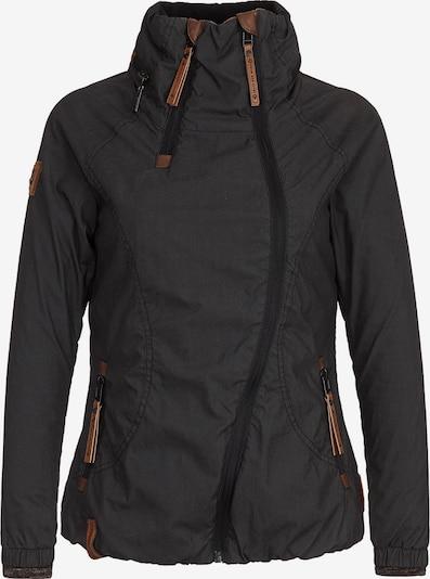 naketano Tussenjas in de kleur Zwart, Productweergave