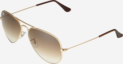Ochelari de soare 'Aviator' Ray-Ban pe maro / auriu, Vizualizare produs