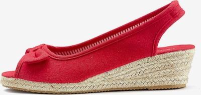 Basutės iš LASCANA , spalva - raudona, Prekių apžvalga