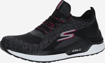 Skechers Performance Sneaker 'GO RUN STEADY SWIFT' in schwarz / weiß, Produktansicht