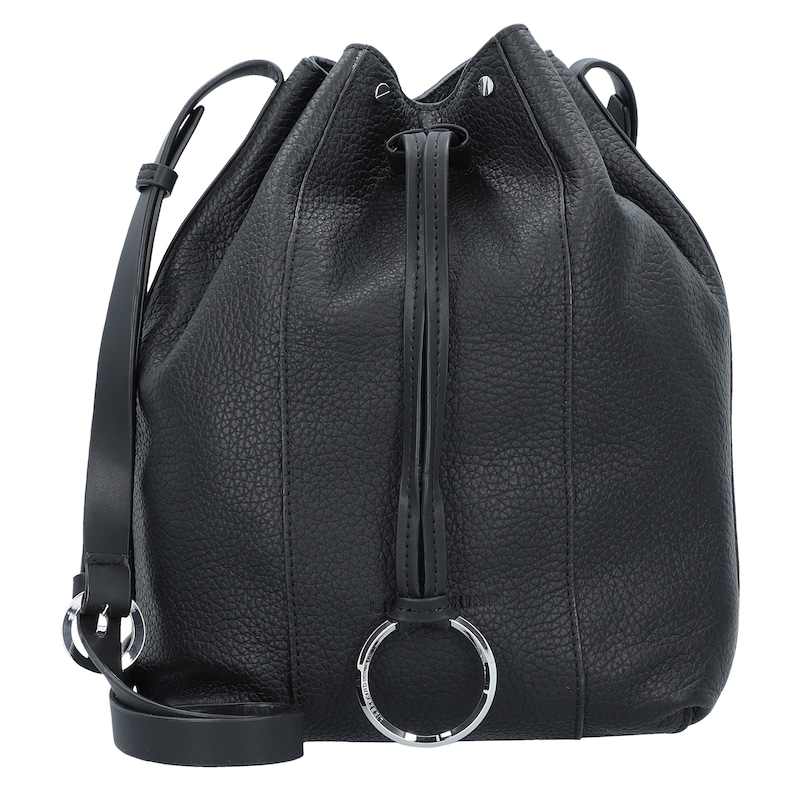 d916dc0ed87bb Liebeskind Berlin Bucket-Bag  Pebble  in schwarz
