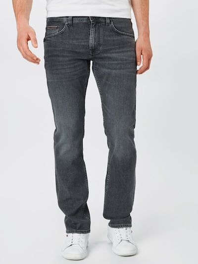 TOMMY HILFIGER Jeans 'Denton' in grey denim, Modelansicht