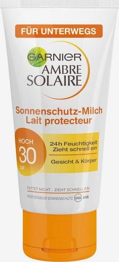 GARNIER Ambre Solaire LSF 30, Sonnenmilch in orange / weiß, Produktansicht