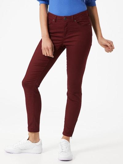 Jeans 'TANYA' VERO MODA pe bordeaux, Vizualizare model
