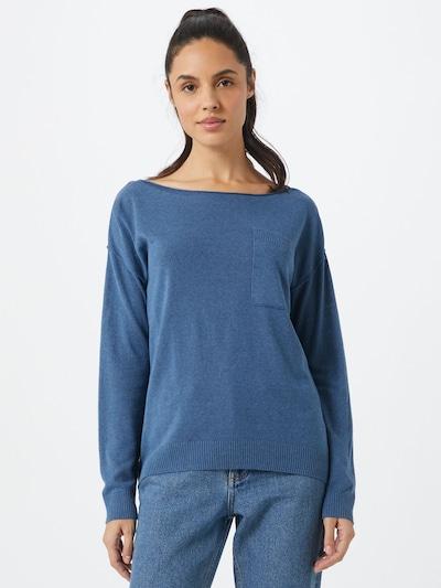 ESPRIT Pull-over 'Utility' en bleu, Vue avec modèle