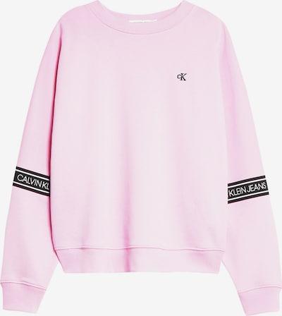 Calvin Klein Jeans Sweatshirt in pink, Produktansicht