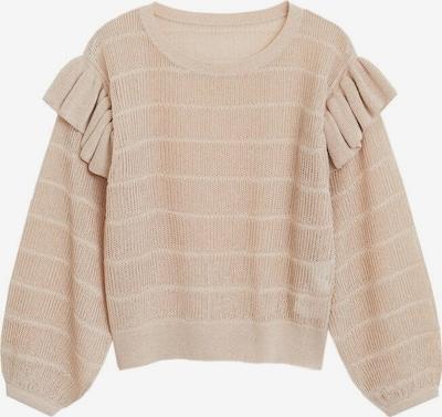 MANGO Pullover 'meninas' in hellbeige, Produktansicht