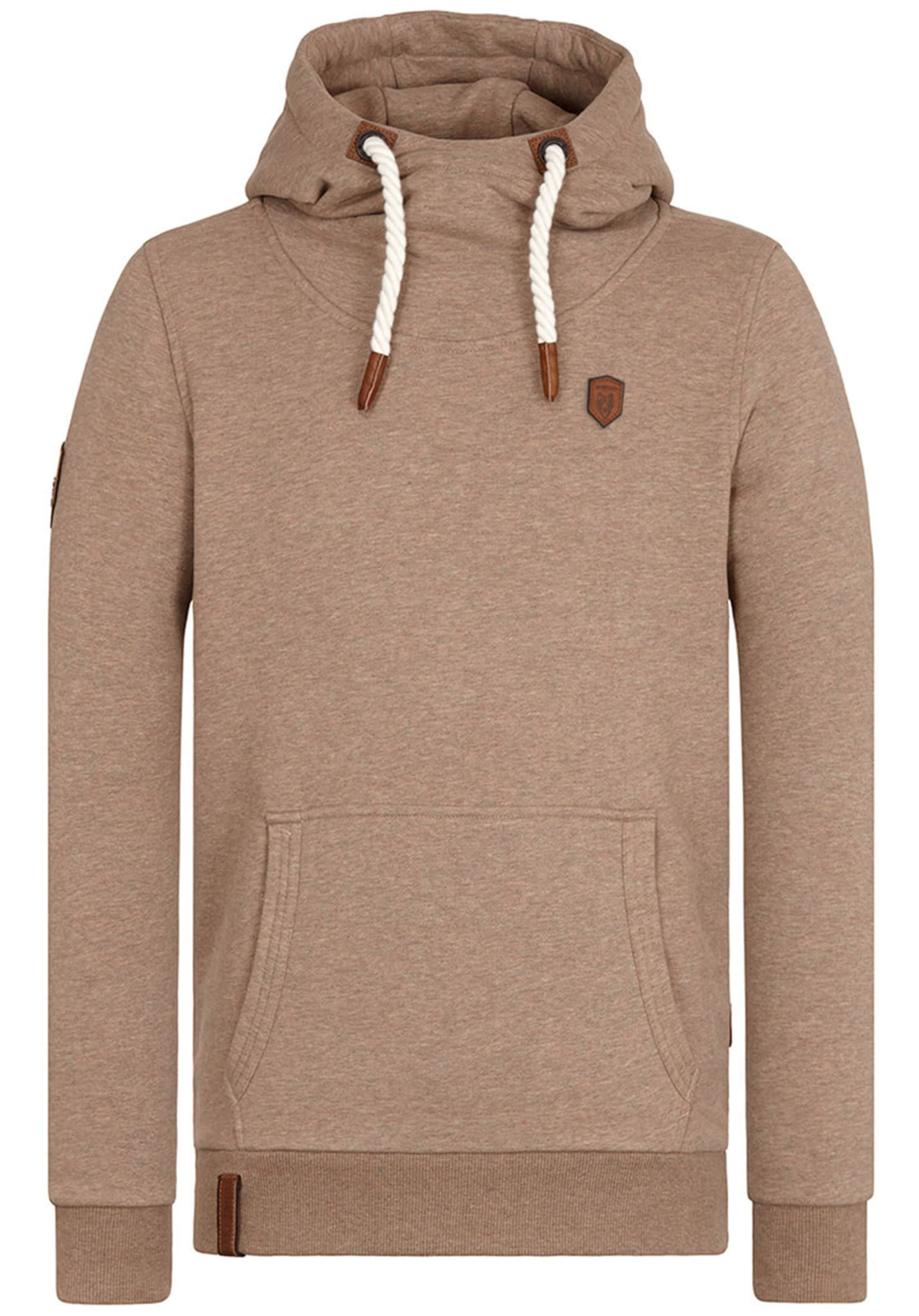 Sweat shirt Marron En Naketano 'supapimmel' AR354jL