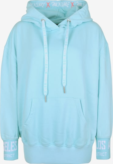 PAUL X CLAIRE Hoodie 'LOS ANGELES' in blau, Produktansicht