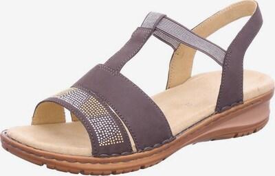 ARA Sandale in hellbraun, Produktansicht