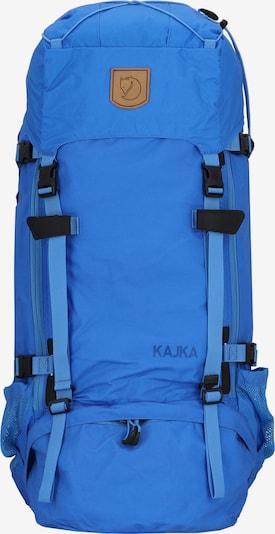 Fjällräven Sac à dos de sport 'Kaijka' en bleu roi, Vue avec produit