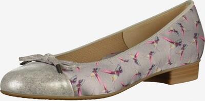 ARA Ballerina in taupe / pink / silber, Produktansicht