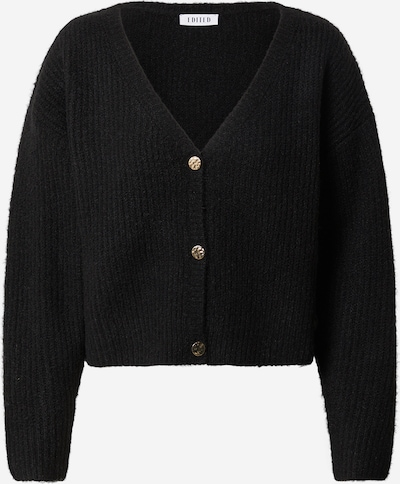 EDITED Knit cardigan 'Ronja' in black, Item view