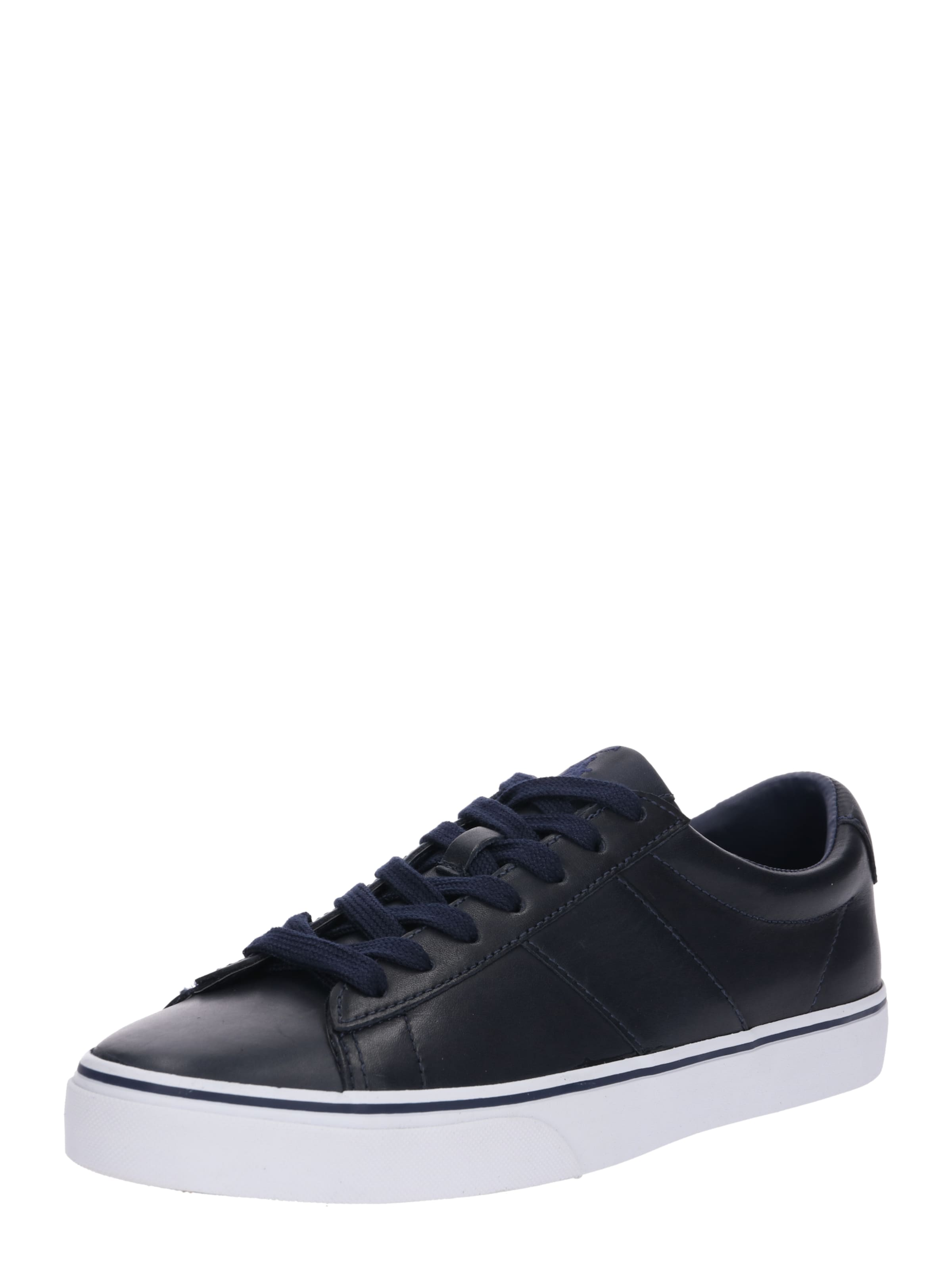 Polo Lauren 'sayer Nachtblau In Leather' Sneaker Ralph Jl13uTKcF