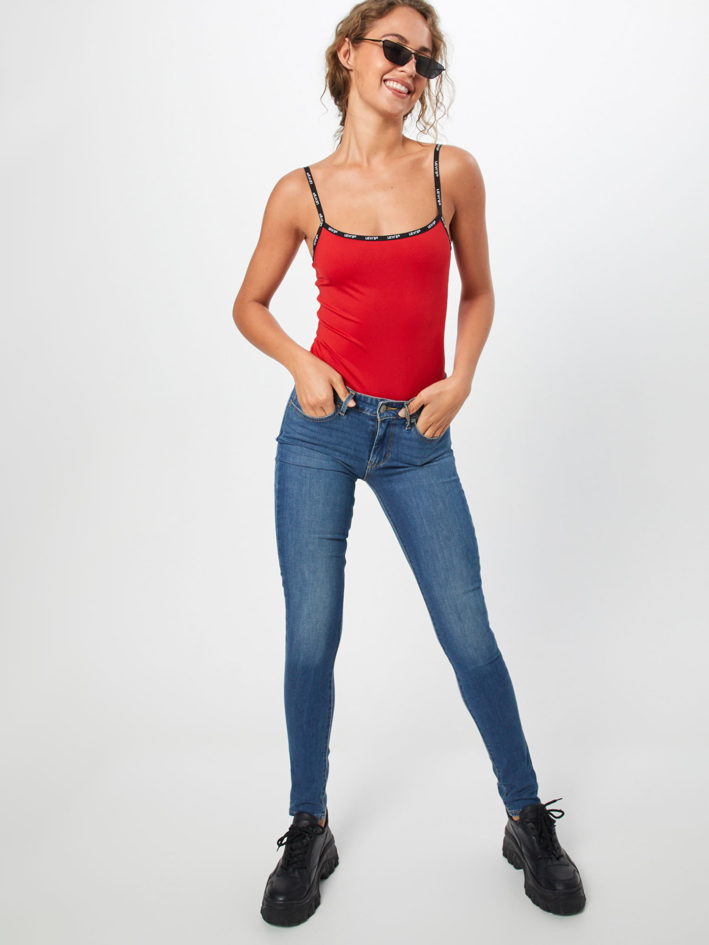 'paige In Top Levi's Bodysuit' Rot bf6yY7vg