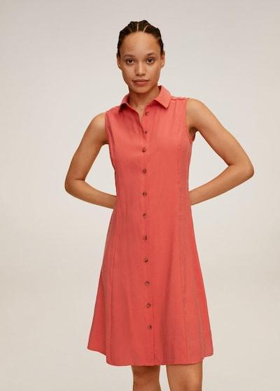 MANGO Kleid 'Bowie' in koralle, Modelansicht