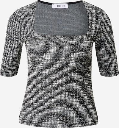 EDITED T-shirt 'Farina' en noir / blanc, Vue avec produit