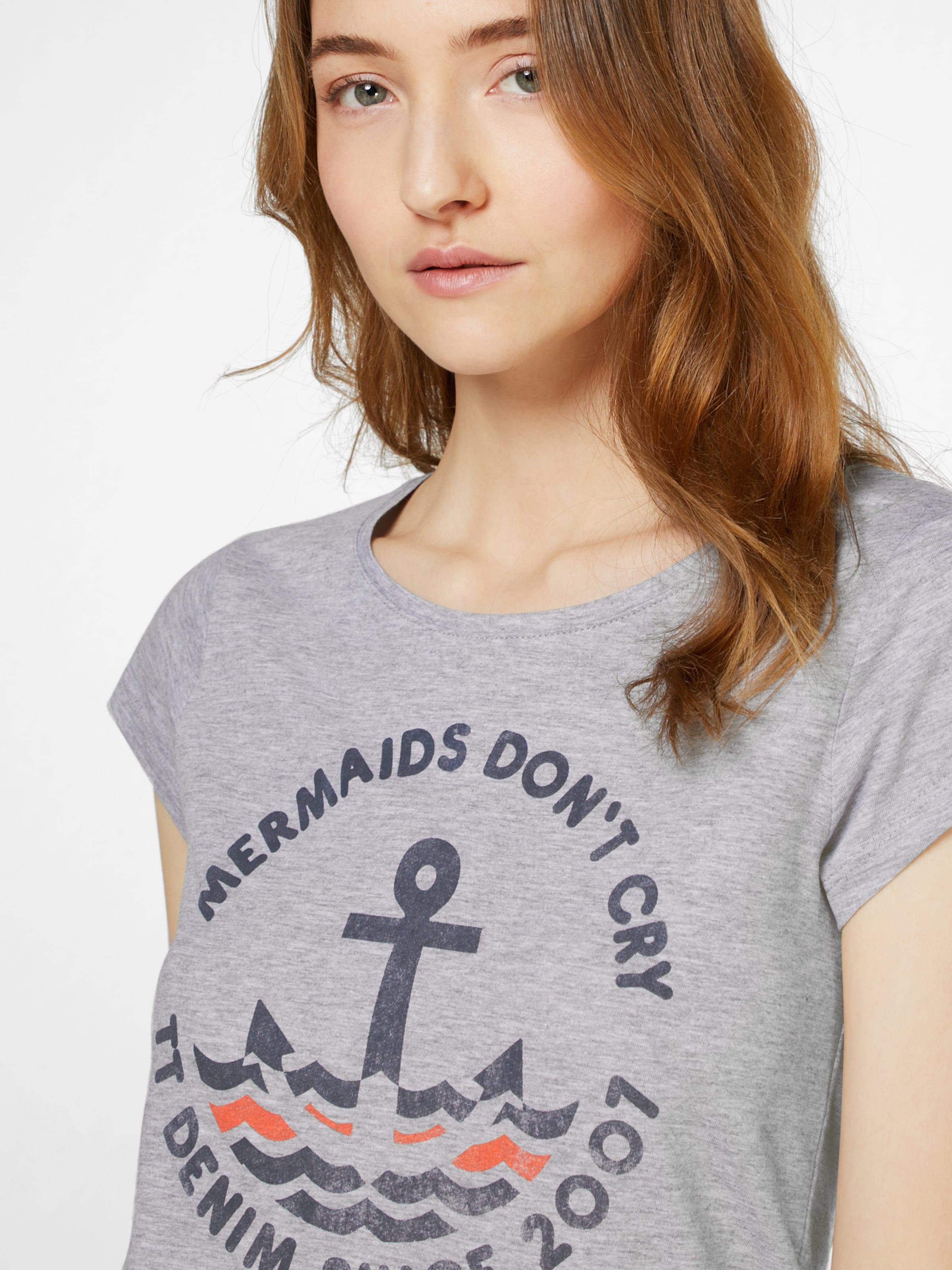 Sehr Günstiger Preis Verkauf Websites TOM TAILOR DENIM Print T-Shirt 38O5Y