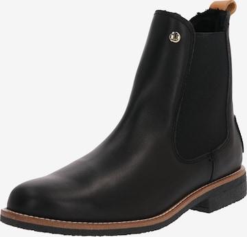 PANAMA JACK Chelsea Boots 'Gillian Igloo travelling ' in Black