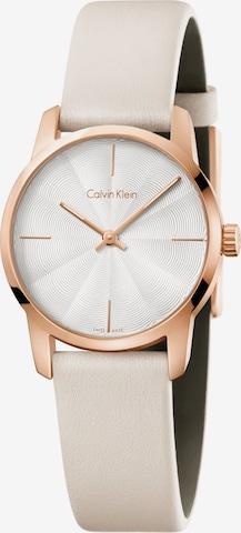 Calvin Klein Analog Watch in Beige