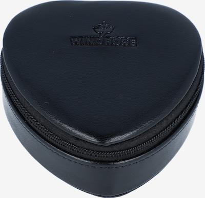 WINDROSE Schmuckdose 'Merino Moda' in schwarz, Produktansicht