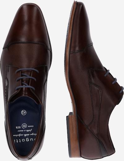 bugatti Schnürschuh 'Morino' in braun: Seitenansicht