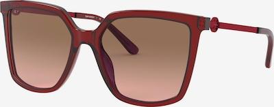 Tory Burch Sonnenbrille in dunkelrot, Produktansicht