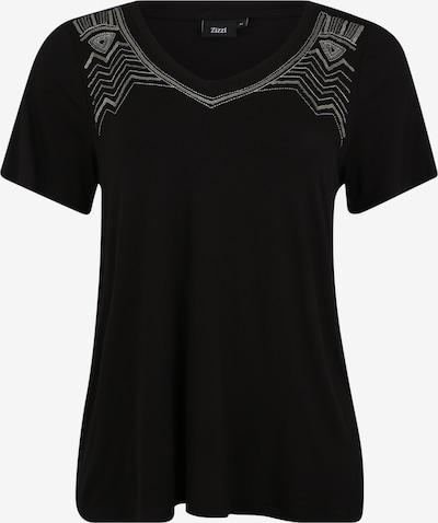 Zizzi Majica | črna barva, Prikaz izdelka