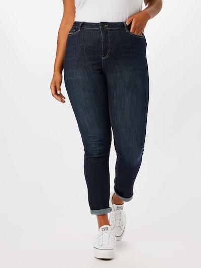 Junarose Jeans 'RONEADDIS' in dunkelblau, Modelansicht
