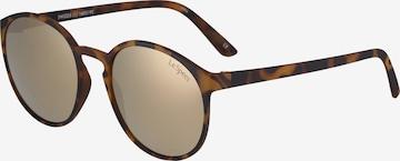 LE SPECS Solbriller 'Swizzle' i brun
