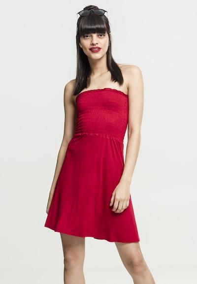 Urban Classics Kleid in feuerrot, Modelansicht